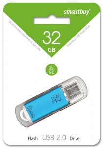 USB-Flash Smartbuy 32 Gb V-Cut Blue
